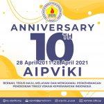 AIPViKI 10th Anniversary