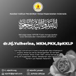 Turut Berdukacita Atas Meninggalnya dr.Hj.Yulherina, MKM,PKK,SpKKLP